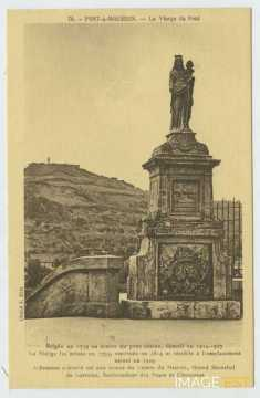 La Vierge du pont (Pont-à-Mousson)