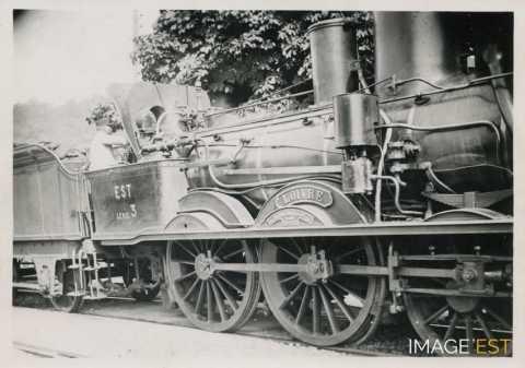 Locomotive à vapeur (Réhon)