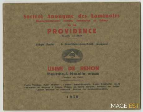 Société Anonyme des Laminoirs de la Providence (Réhon)