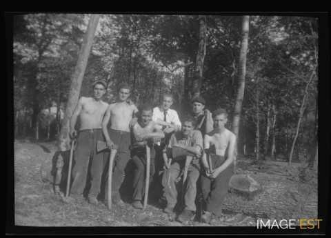 Ouvriers forestiers (Pont-à-Mousson)