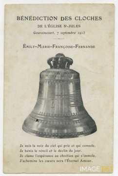 Bénédiction des cloches (Longwy)
