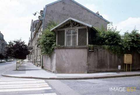 Construction en bois avenue Anatole France (Nancy)