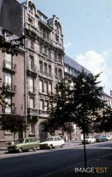 Immeuble avenue Anatole France (Nancy)
