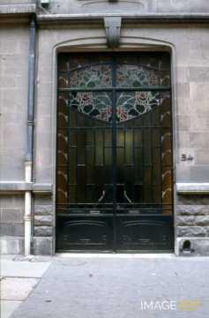 Porte avenue Anatole France (Nancy)