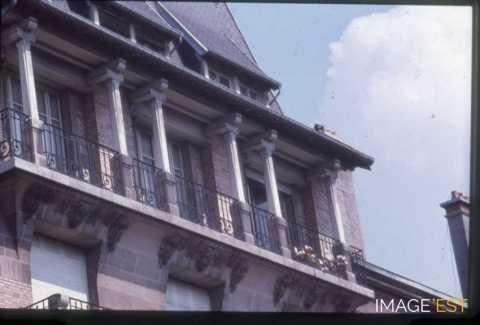 Balcon avenue Anatole France (Nancy)