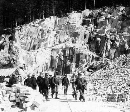 Carrière de granit (Vosges)