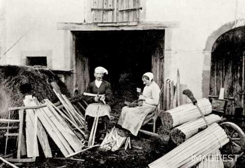 Fabrication de brandons (Vosges)