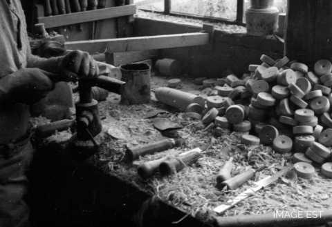 Jouets en bois tourné (Lunéville)