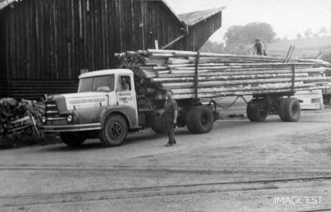Transport de bois (Abreschviller)