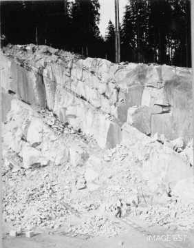 Carrière de granite (Gérardmer)