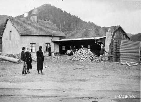 Scierie de Lajus (Vosges)