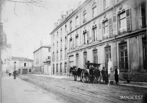 Attelage transportant du goudron (Nancy)