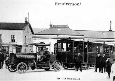 Le train Renard (Remiremont)