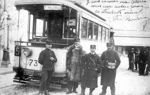Conducteurs de tramway (Malzéville)