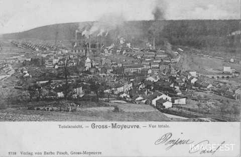Panorama de Moyeuvre-Grande (Moselle)