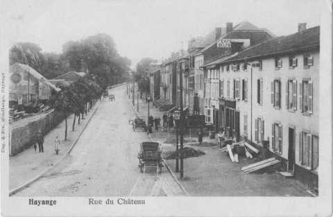 Rue du Château (Hayange)