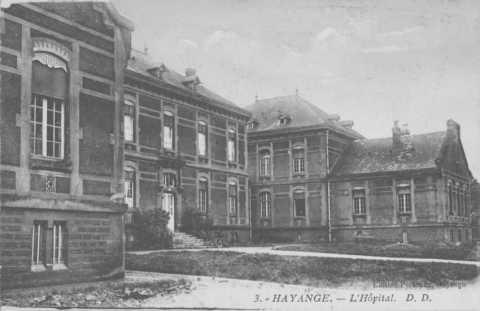 Hôpital de Wendel (Hayange)