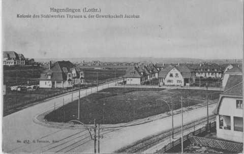 Maisons des usines Thyssen (Hagondange)