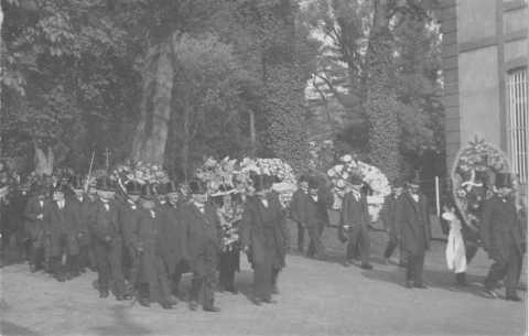 Funérailles de Henri de Wendel (Hayange)