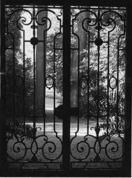 Portail du Château de Wendel (Hayange)