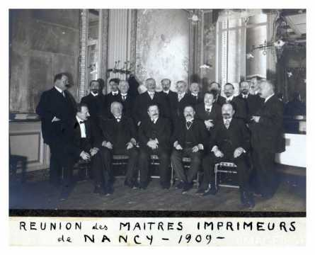 Imprimeurs de Nancy (1909)