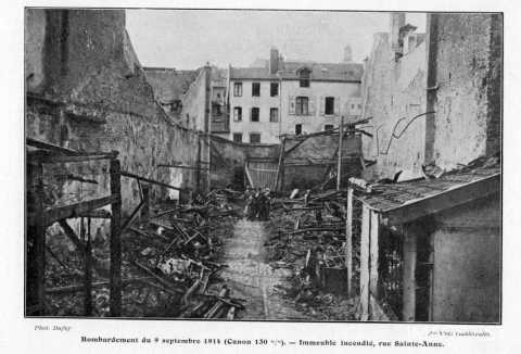 Bombardement du 9 septembre 1914 (Nancy)