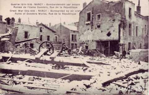 Bombardements (Nancy)