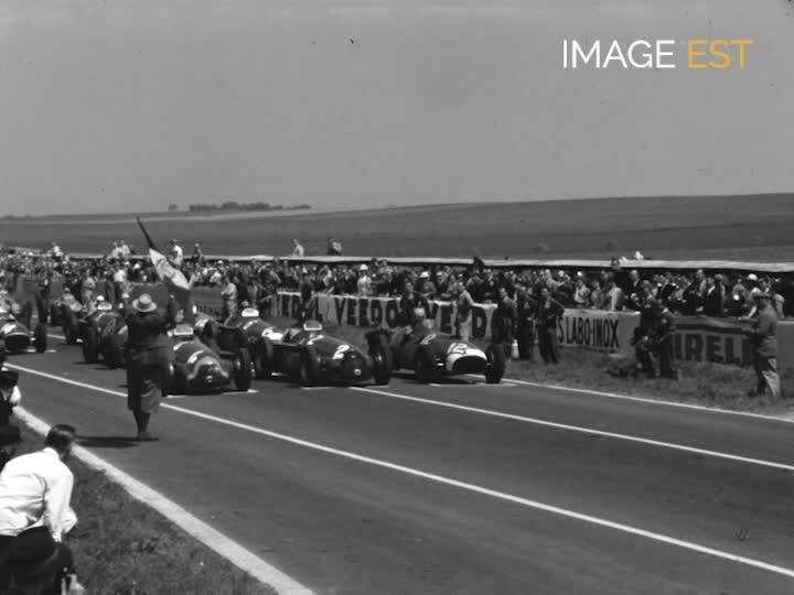Grand Prix d'Europe au circuit de Reims
